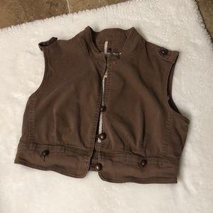 PLUGG L is for lovely denim vest